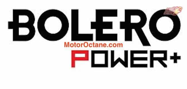 Mahindra Bolero Power+
