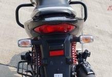 2016 Hero Achiever 150 iSmart tail lamp
