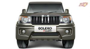 Mahindra Bolero Power+ Plus front