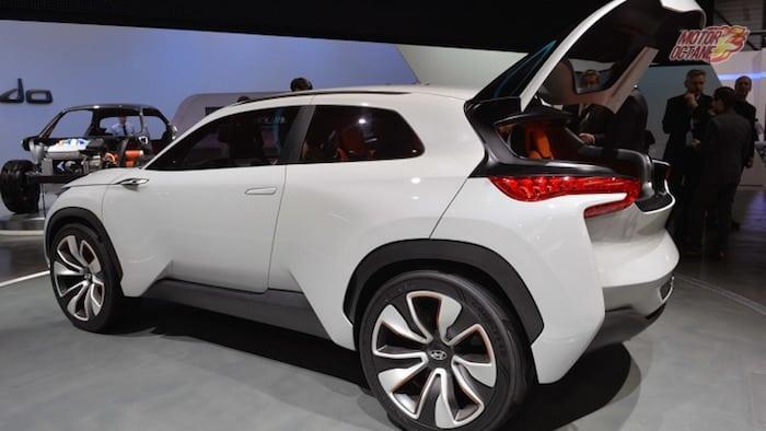 Hyundai i20 based SUV rear