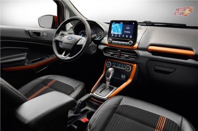 New Ford Ecosport 2017 interior touchscreen