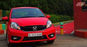 New Honda Brio 2016 front shot