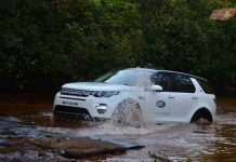 Land Rover Experience India splash
