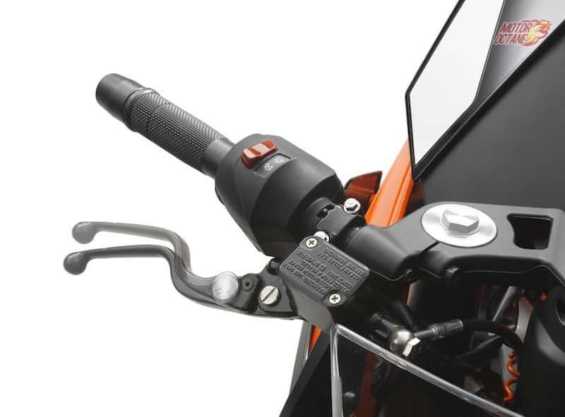 2017 KTM RC390 handle