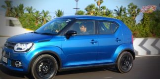 Maruti Ignis motion front