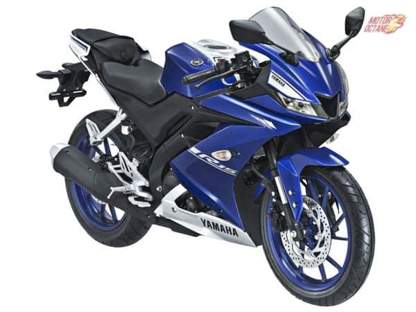 Yamaha R15 V3 blue