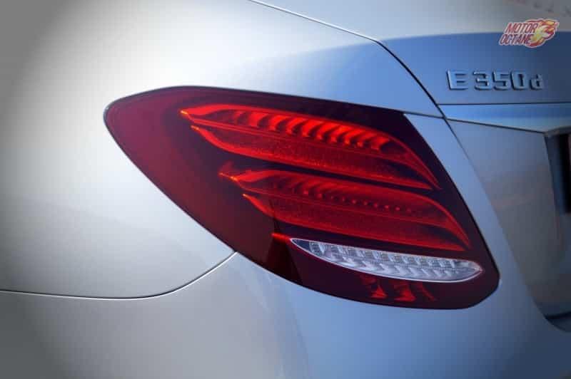Mercedes E Class 2017 taillamp