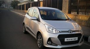 New Hyundai Grand i10 2017 front grille