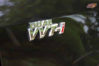 2017 Toyota Corolla Altis badge