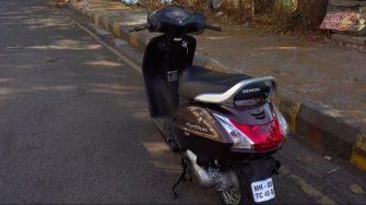 Honda Activa 4G rear