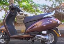 Honda Activa 4G side profile