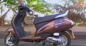 Honda Activa 4G side profile