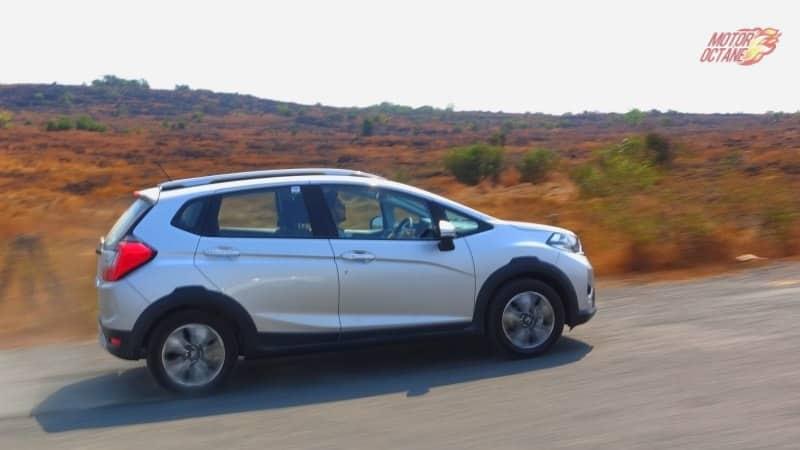 Honda WRV motion