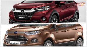Honda WRV vs Ford Ecosport