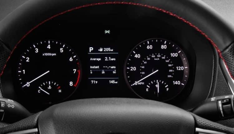 New Hyundai Verna 2017 gauge