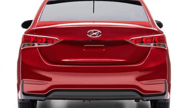New Hyundai Verna 2017 rear