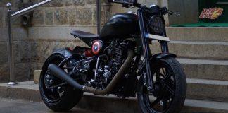 Bulleteer_-Customs_Americana Royal Enfield Cutomer made
