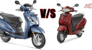 Honda Activa 4G vs Honda Activa 125