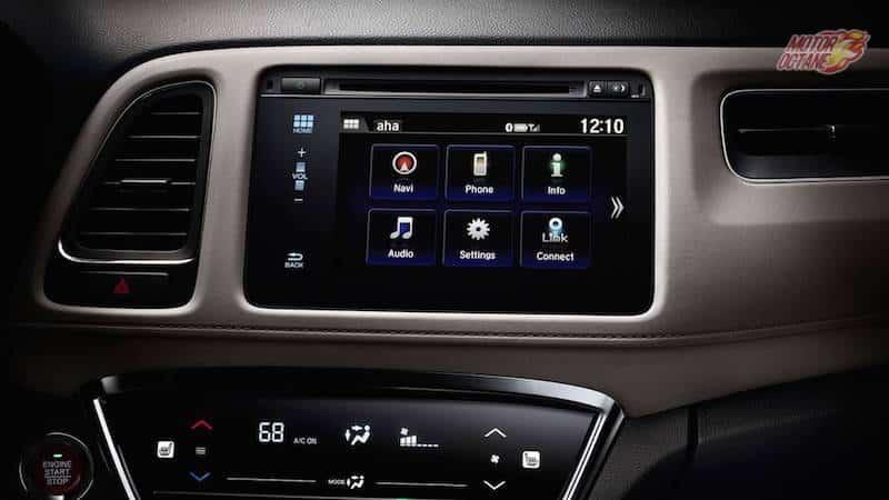 Honda HRV touchscreen