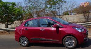 Hyundai XCent 2017 motion