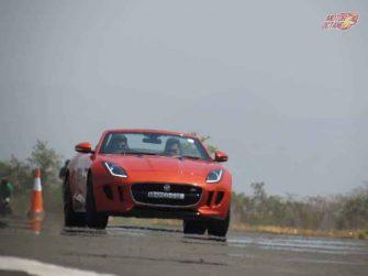 Jaguar Art of Perforamnce Tour F-TYPE CONVERTIBLE