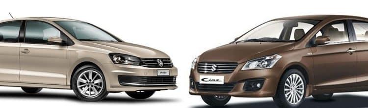 Maruti Ciaz vs VW Vento