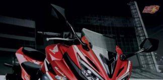 New Honda CB Hornet 160R fairing
