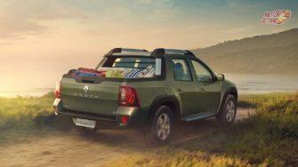 Renault Duster Oroch rear