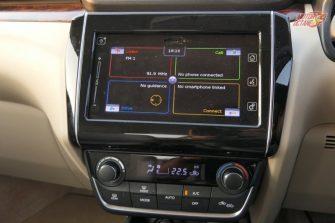 New Maruti DZire 2017 touchscreen