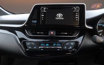 Toyota CHR touchscreen