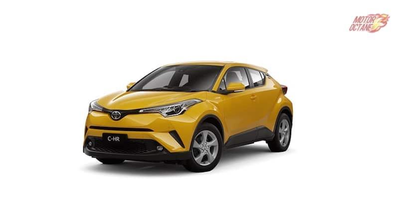 Toyota CHR India yellow