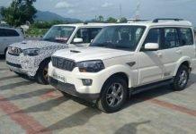 2018 Mahindra Scorpio facelift