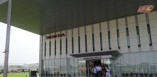 Honda plant visit