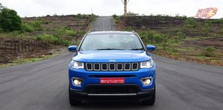 Jeep Compass Front motion