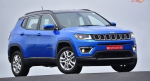 Jeep Compass front three quarter
