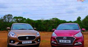 Maruti DZire 2017 vs Hyundai XCent 2017
