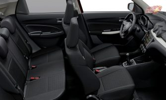 New Maruti Swift 2017 inside layout