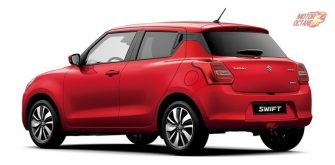New Maruti Swift 2017 rear