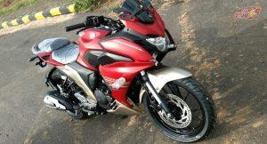 Yamaha Fazer 250 front