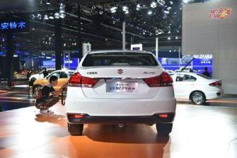 2018 Maruti Ciaz facelift rear