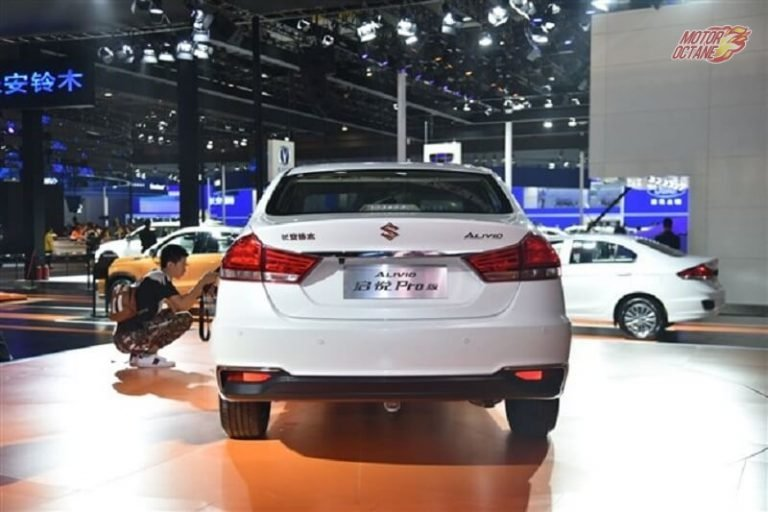 2018 Maruti Ciaz facelift rear
