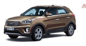 Hyundai Creta 2017 Brown colour