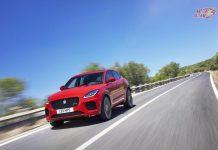 Jaguar E-Pace motion