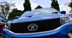 2019 Tata Nexon front grille