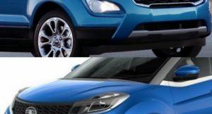 Ford Ecosport 2017 vs Tata Nexon