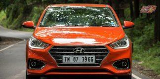 Hyundai Verna 2017 front