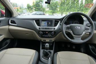 Hyundai Verna 2017 new interior