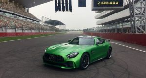 Mercedes-AMG GT R at the BIC