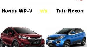 Tata Nexon vs Honda WRV