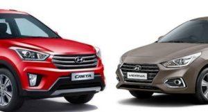 2017 Hyundai Verna vs Hyundai Creta